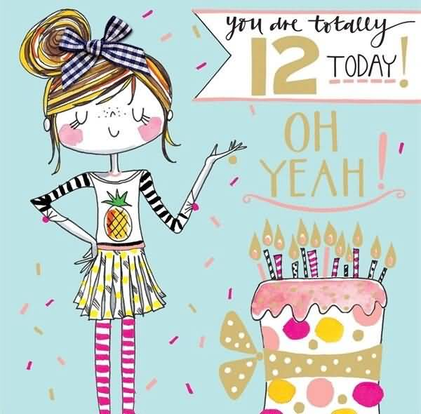 Mind Blowing Happy 12th Birthday Message For Sharing