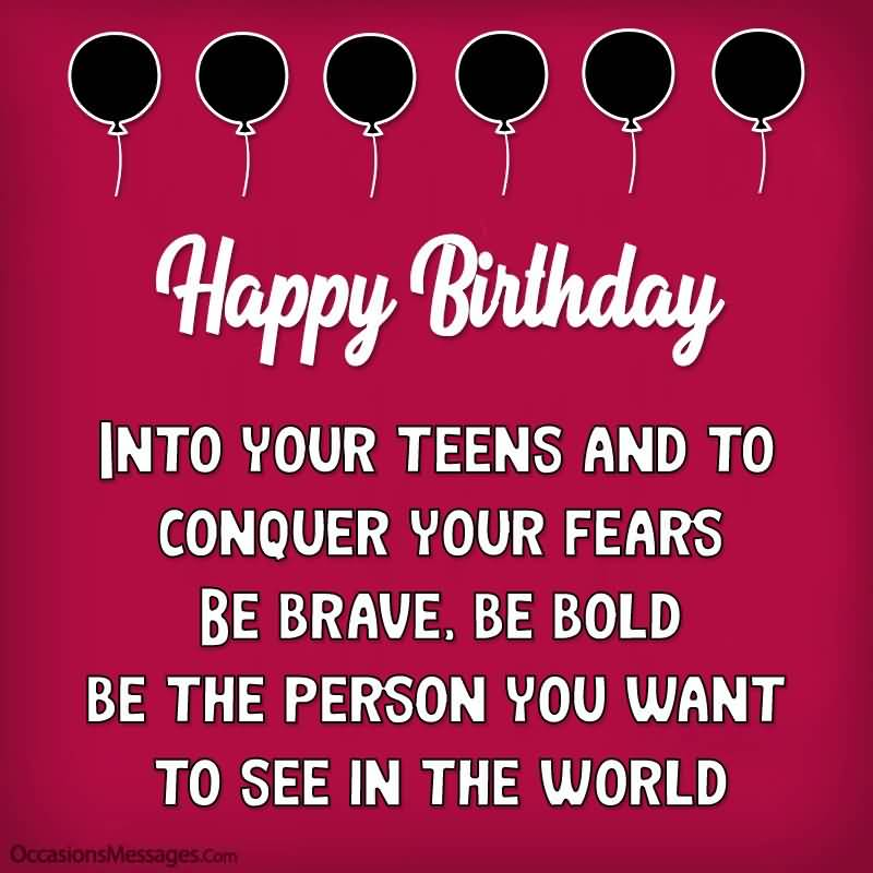 Mind Blowing Happy 13th Birthday Idea For Sharing
