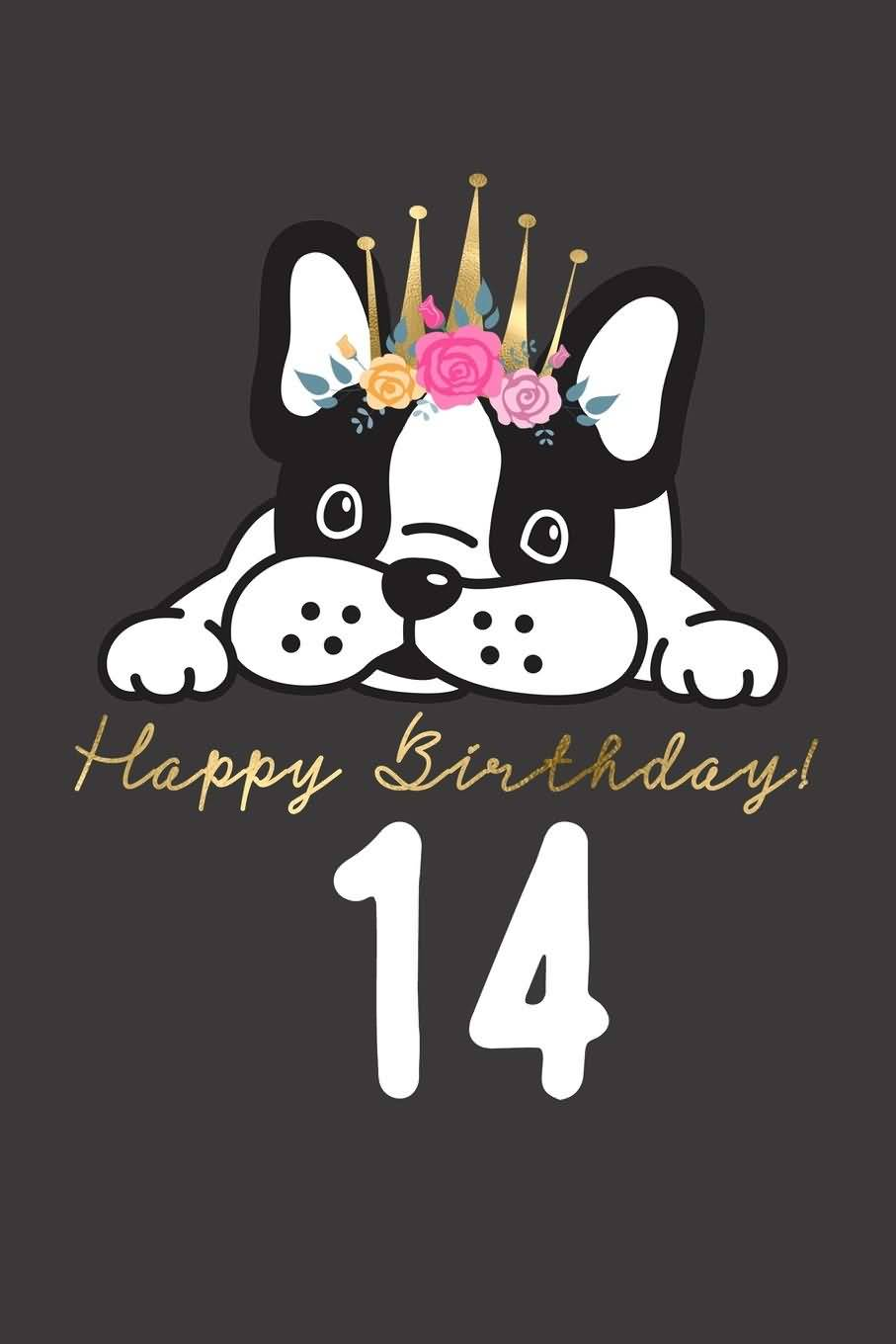 Mind Blowing Happy 14th Birthday Greeting For Children