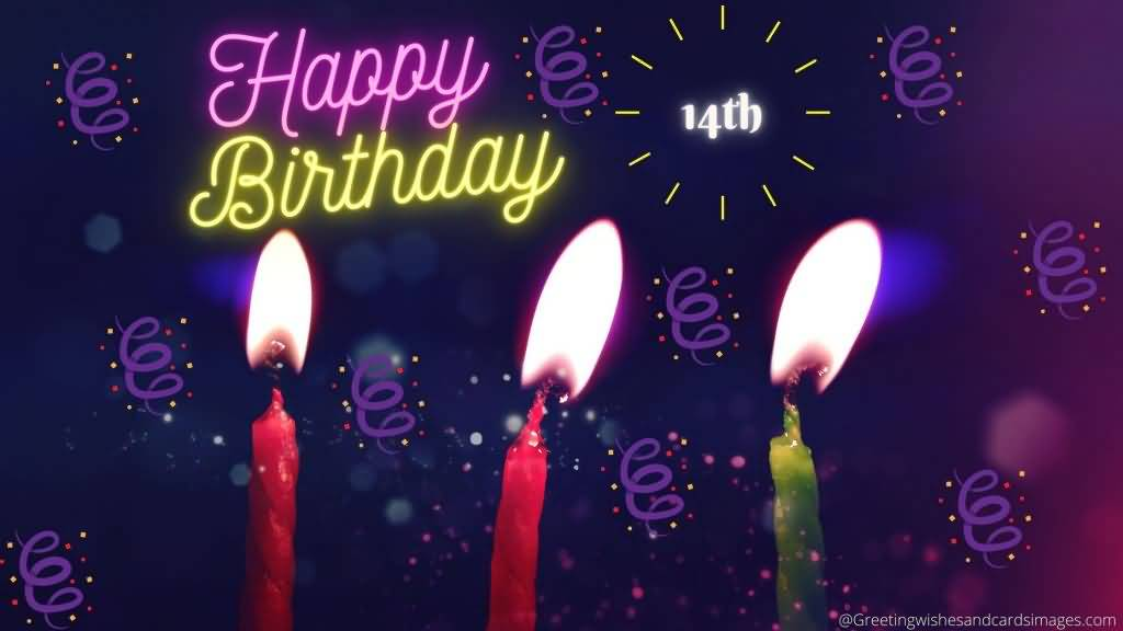 Mind Blowing Happy 14th Birthday Idea For Children