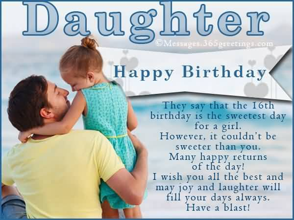 Mind Blowing Happy 16th Birthday Greeting For Sharing