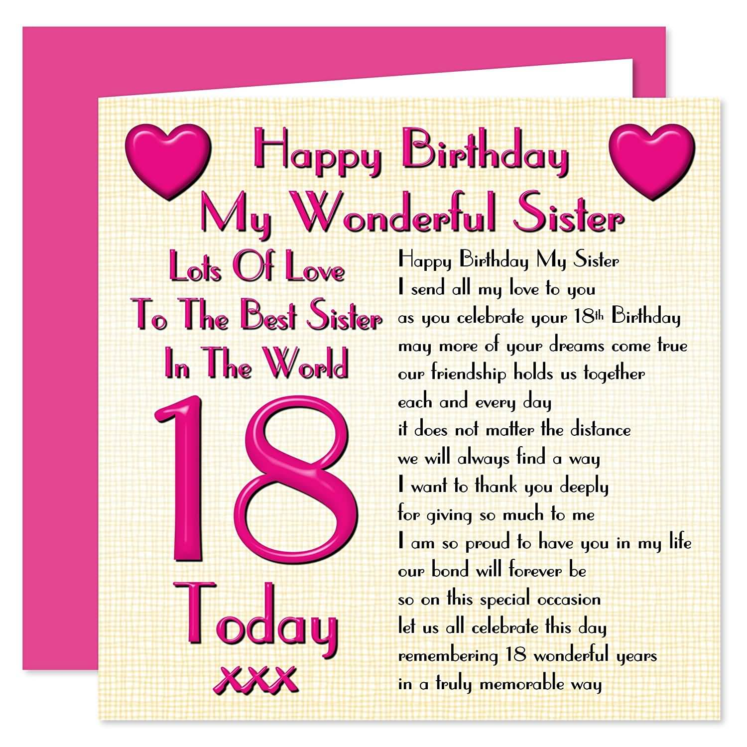 Mind Blowing Happy 18th Birthday Message For Sharing