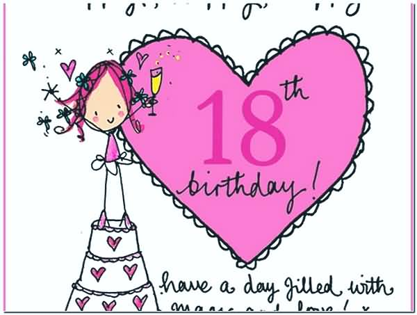 Mind Blowing Happy 18th Birthday Wish For Sharing