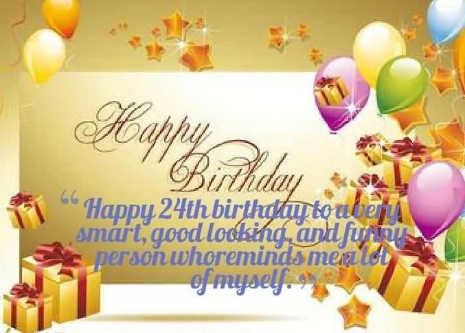 Mind Blowing Happy 24th Birthday Idea For Friend