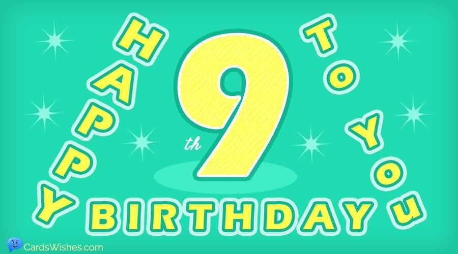 MindBlowing 9th Birthday Idea For Sharing