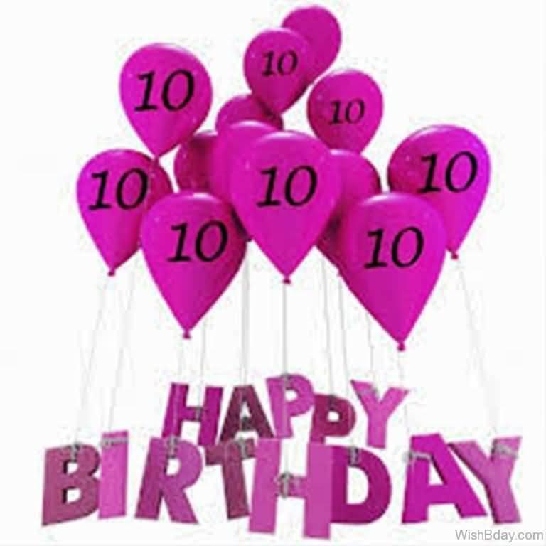 Wonderful 10th Birthday Message For Kid