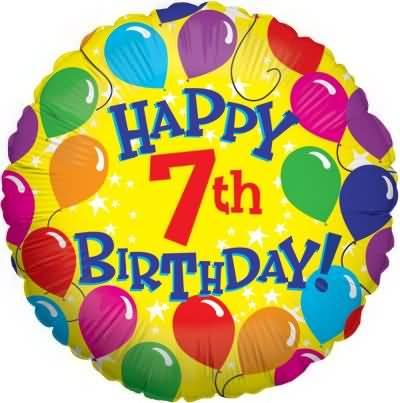 Wonderful 7th Birthday Message For Kid