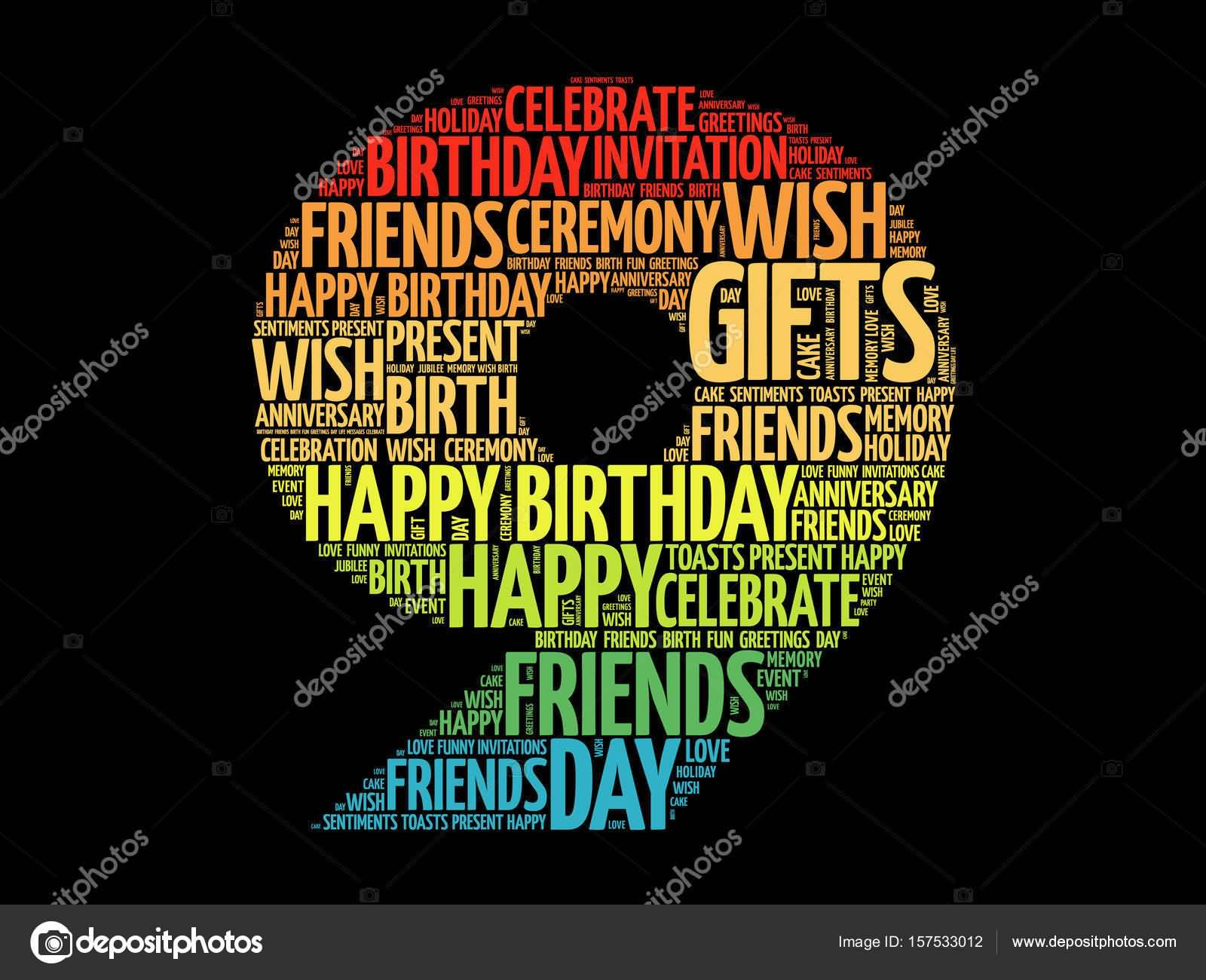 Wonderful 9th Birthday Image For Kid