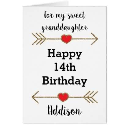 Wonderful Happy 14th Birthday Wishes Image For Sharing