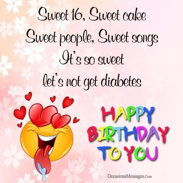 Wonderful Happy 16th Birthday Image For Kid