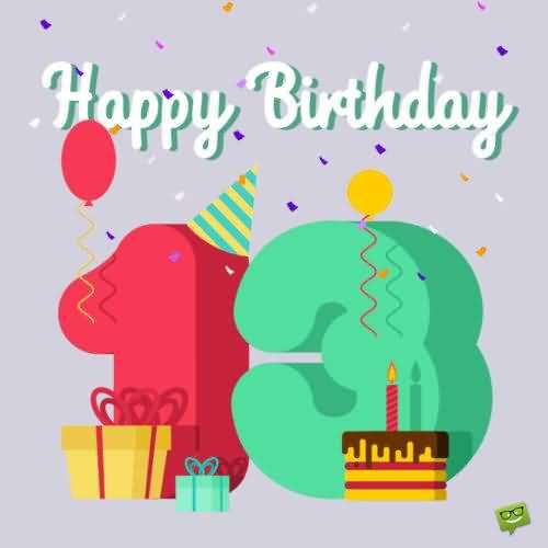 Wonderful Happy 17th Birthday Image For Sharing