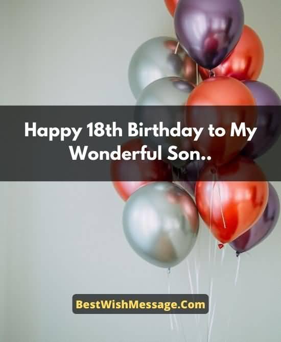 Wonderful Happy 18th Birthday Idea For Kid
