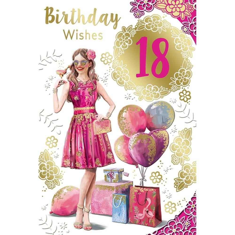 Wonderful Happy 18th Birthday Image For Kid