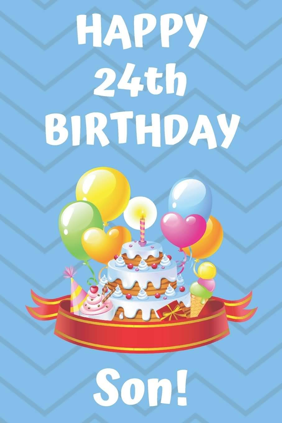 Wonderful Happy 24th Birthday Image For Facebook