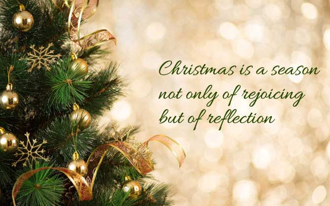 Christmas Is A Season Not Christmas Eve Quotes