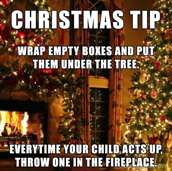 Christmas Tip Wrap Empty Christmas Memes
