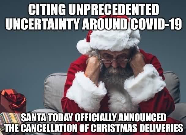 Citing Unprecedented Uncertainty Around Christmas Memes