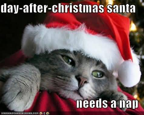 Day After Christmas Santa Day After Christmas Meme