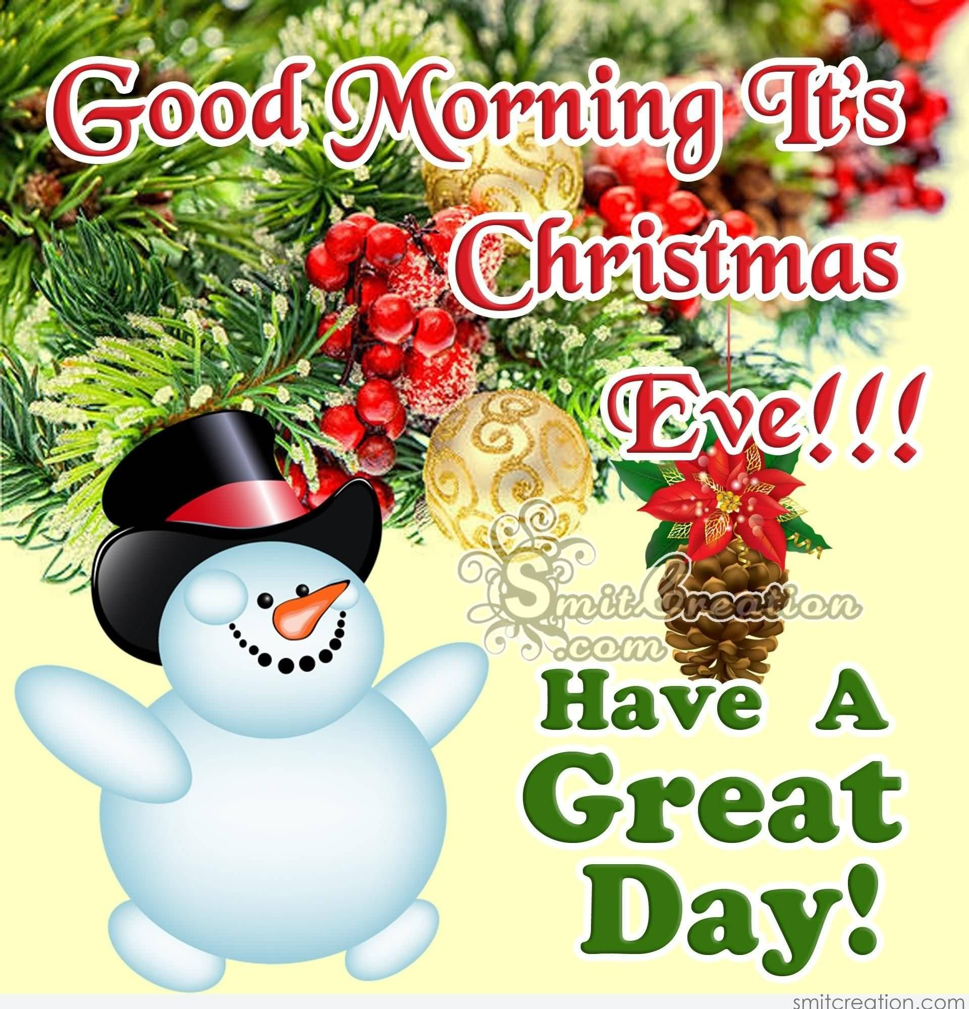 Good Morning It's Christmas Christmas Eve Quotes