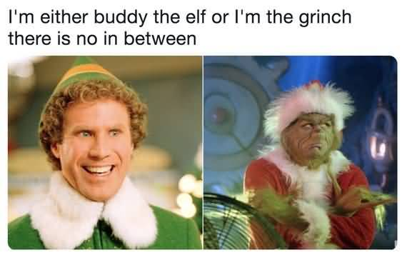 I'm Either Buddy The Christmas Memes