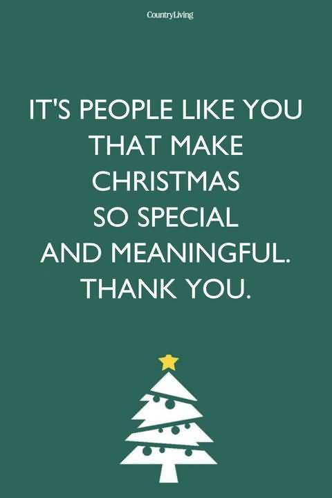 It's People Like You Christmas Wishes