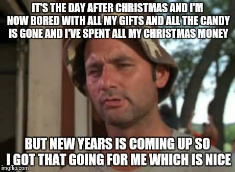 It's The Day After Day After Christmas Meme