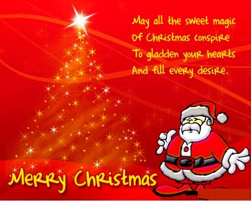 May All The Sweet Christmas Wishes