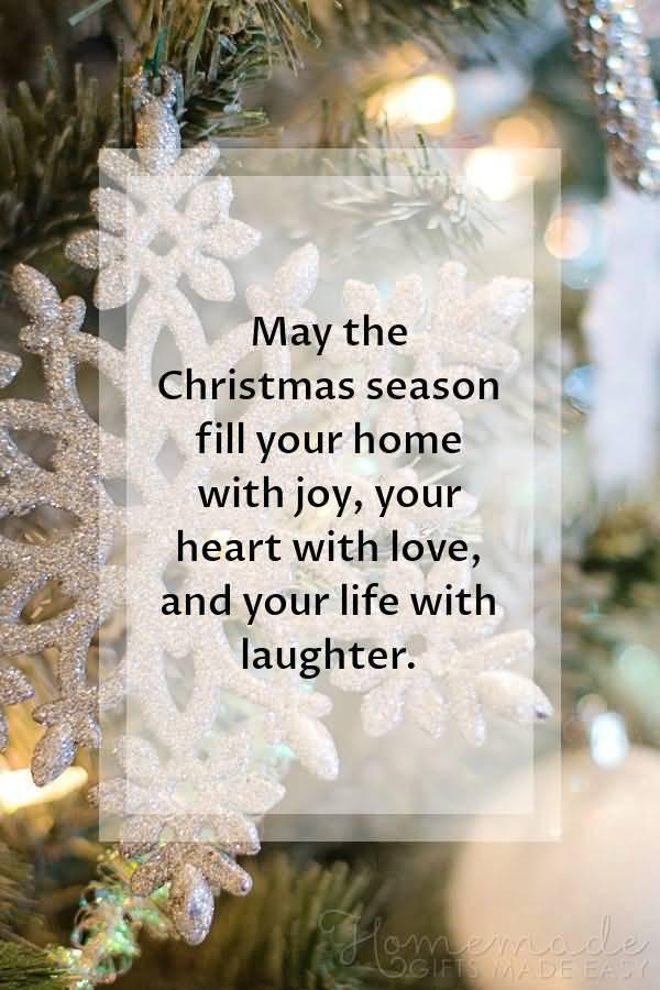 May The Christmas Season Christmas Wishes
