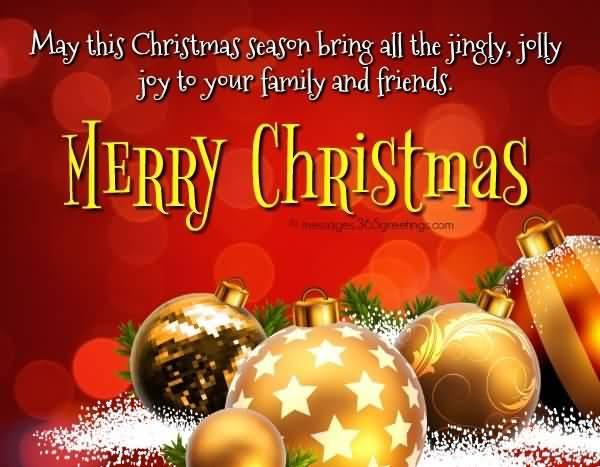 May This Christmas Season Bring Christmas Wishes