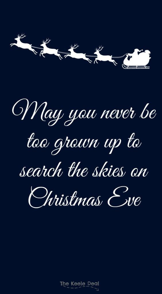 May You Never Be Too Christmas Eve Quotes