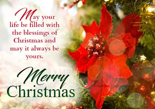 May Your Life Be Christmas Wishes