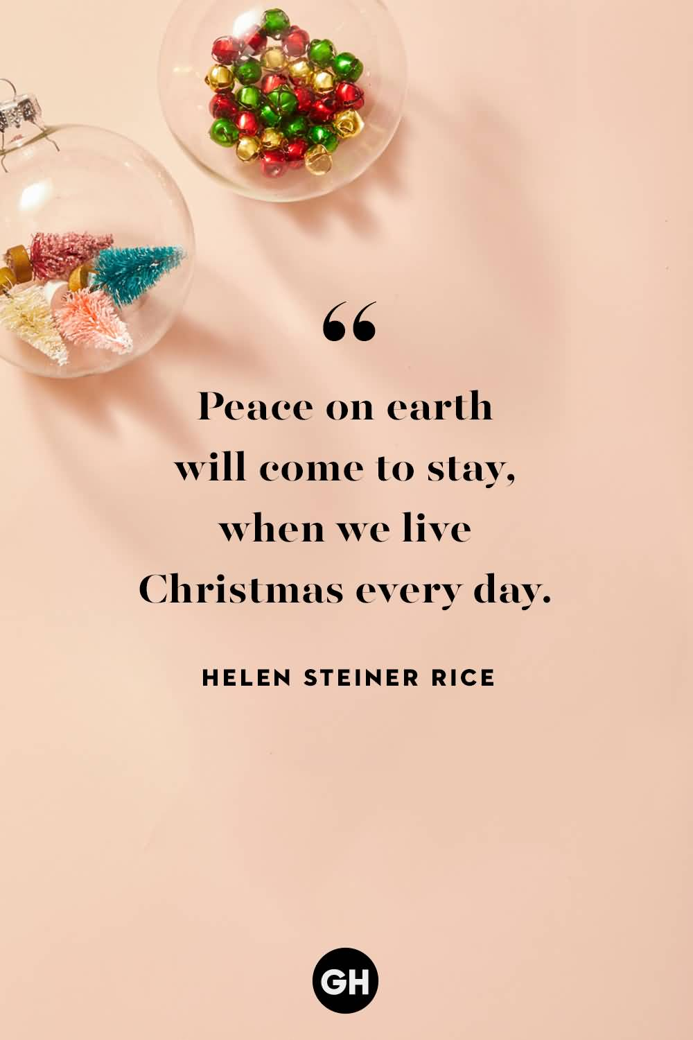 Peace On Earth Will Christmas Eve Quotes