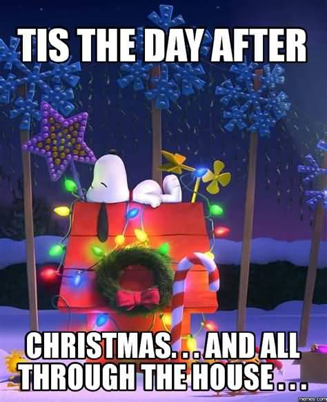 Tis The Day After Day After Christmas Meme