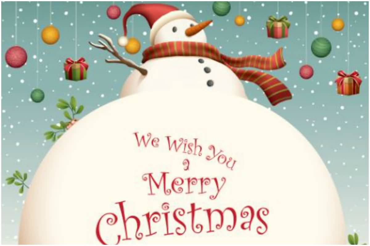 We Wish You A Merry Christmas Wishes
