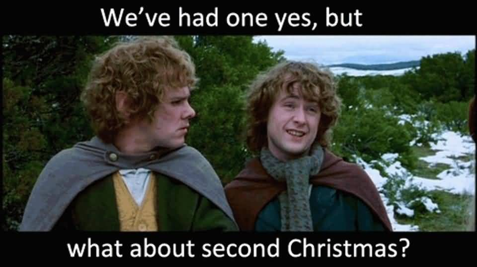 We've Had One Yes Day After Christmas Meme