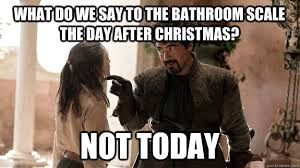 What Do We Say Day After Christmas Meme