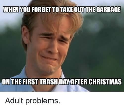 When You Forget To Day After Christmas Meme