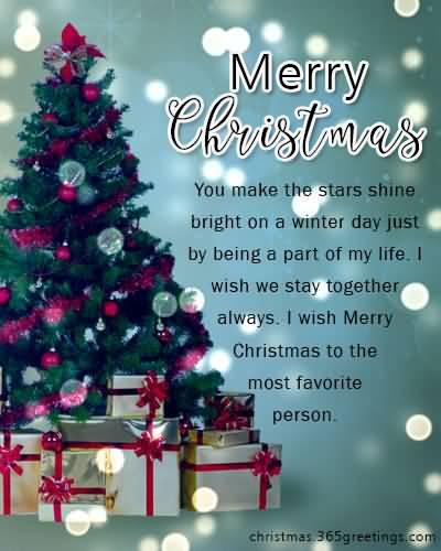 You Make The Stars Christmas Wishes